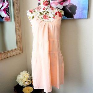 3/$35 JENNY HAN 100% Silk Mini Slip Dress